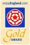 Acorn Lodge awarded 4 Star and Gold Award Again.