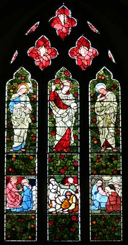 Stained glass window - Whitton Church