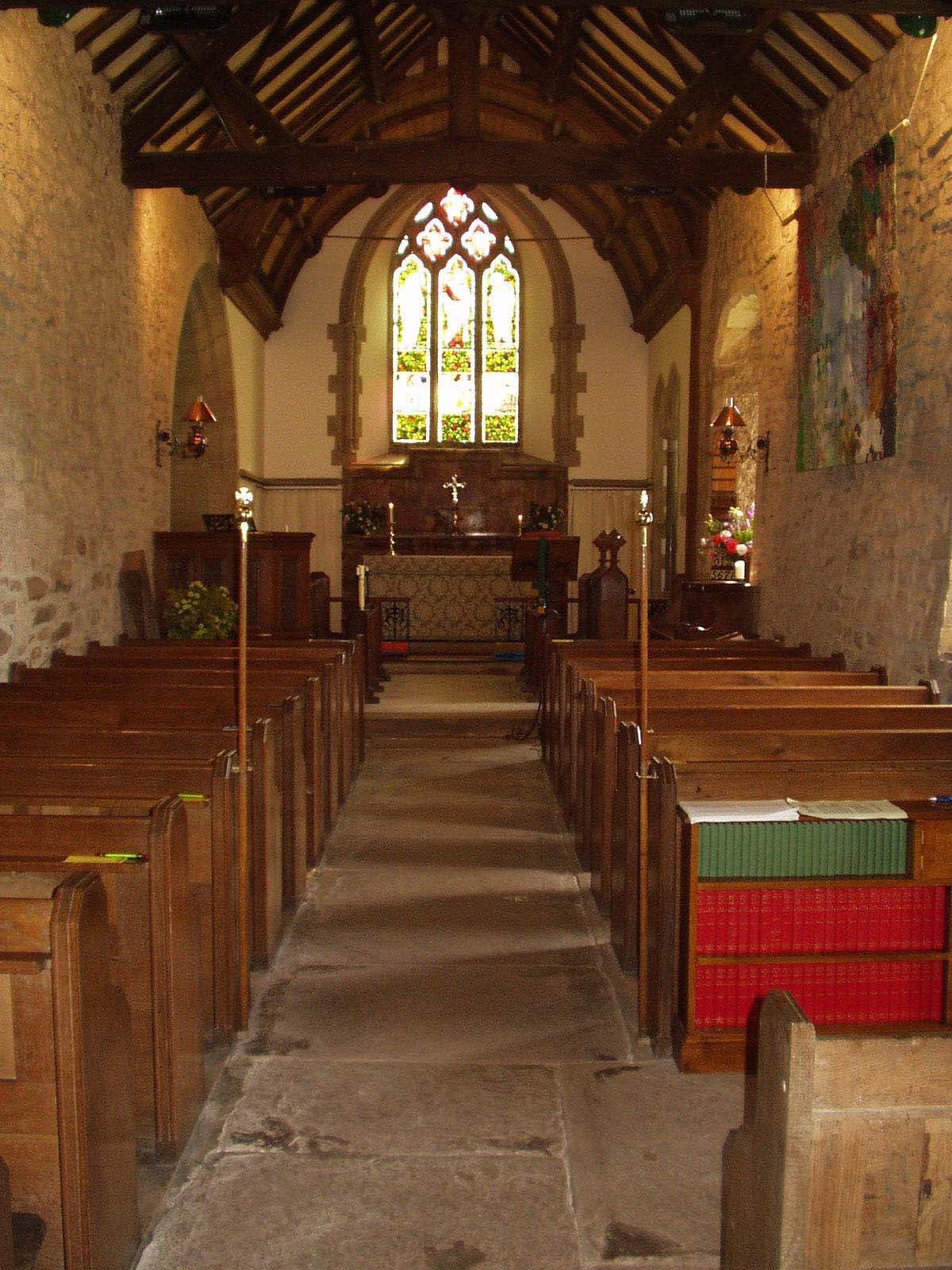 Inside of Whitton Church
